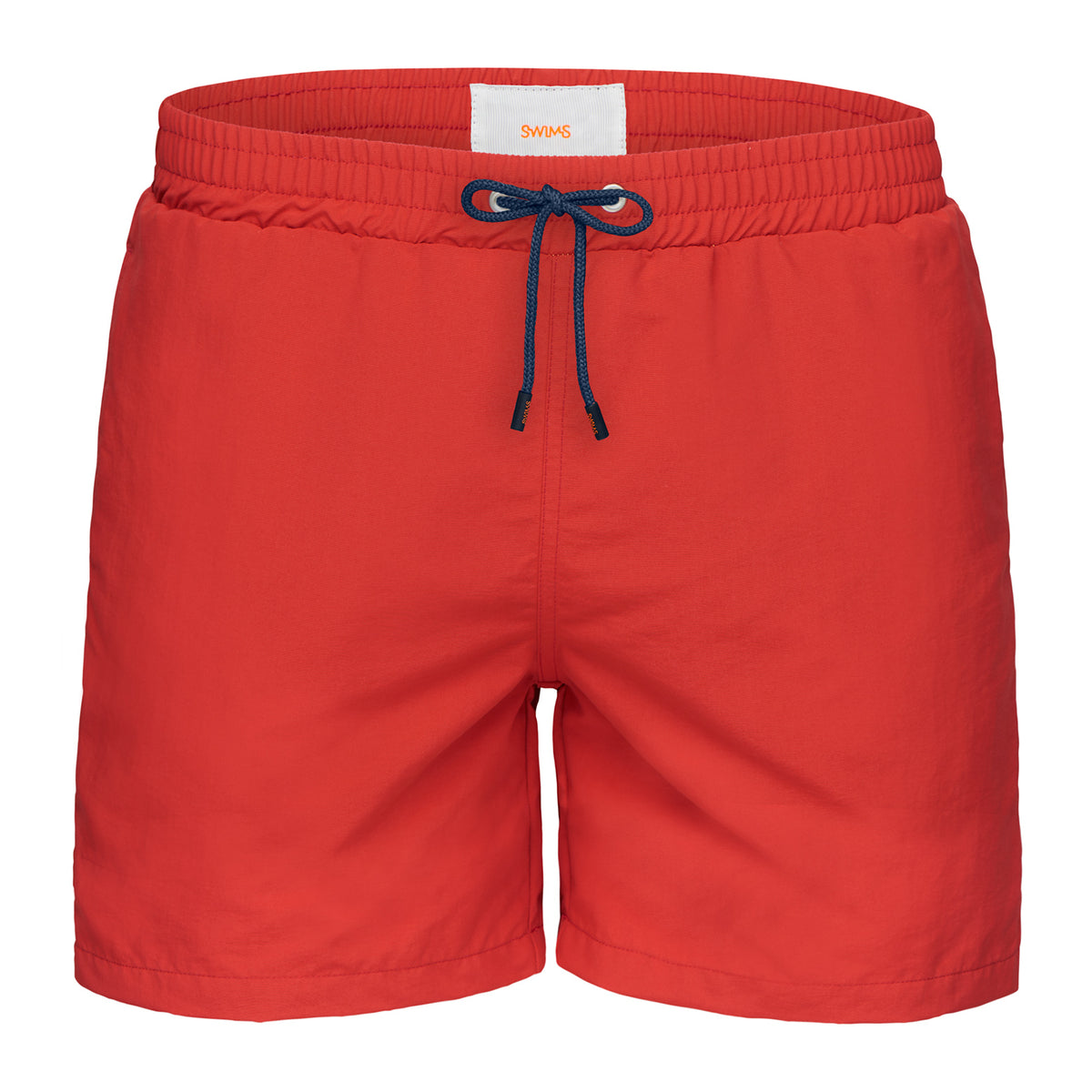 Breeze Swimshort Long - background::white,variant::Red Alert