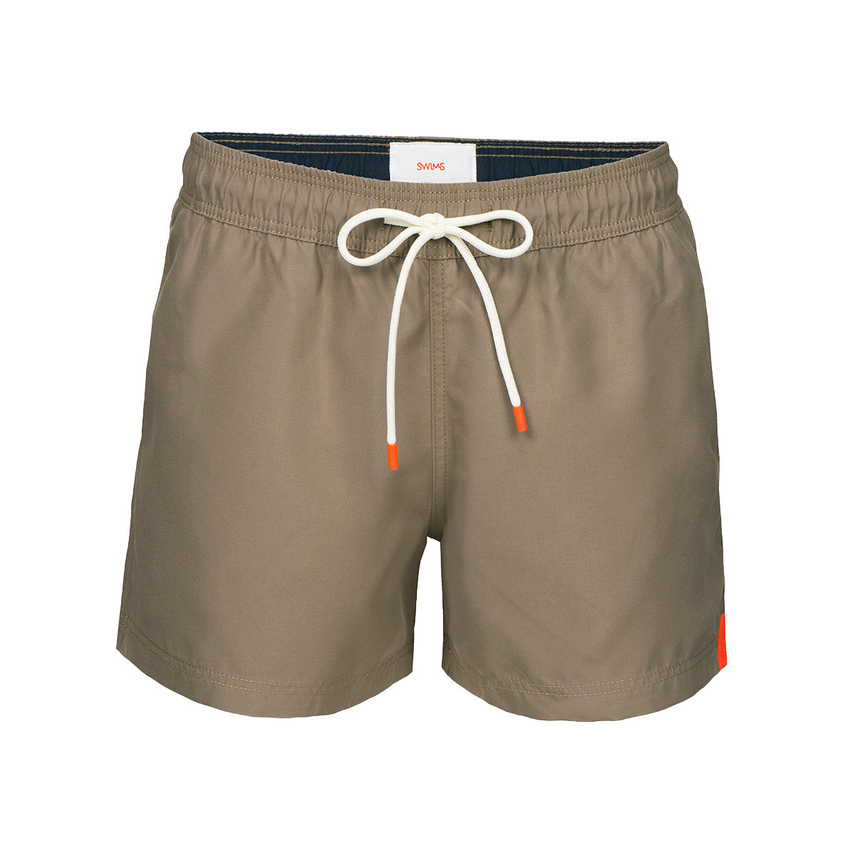 Gavitella Solid Bathing Shorts - background::white,variant::sand