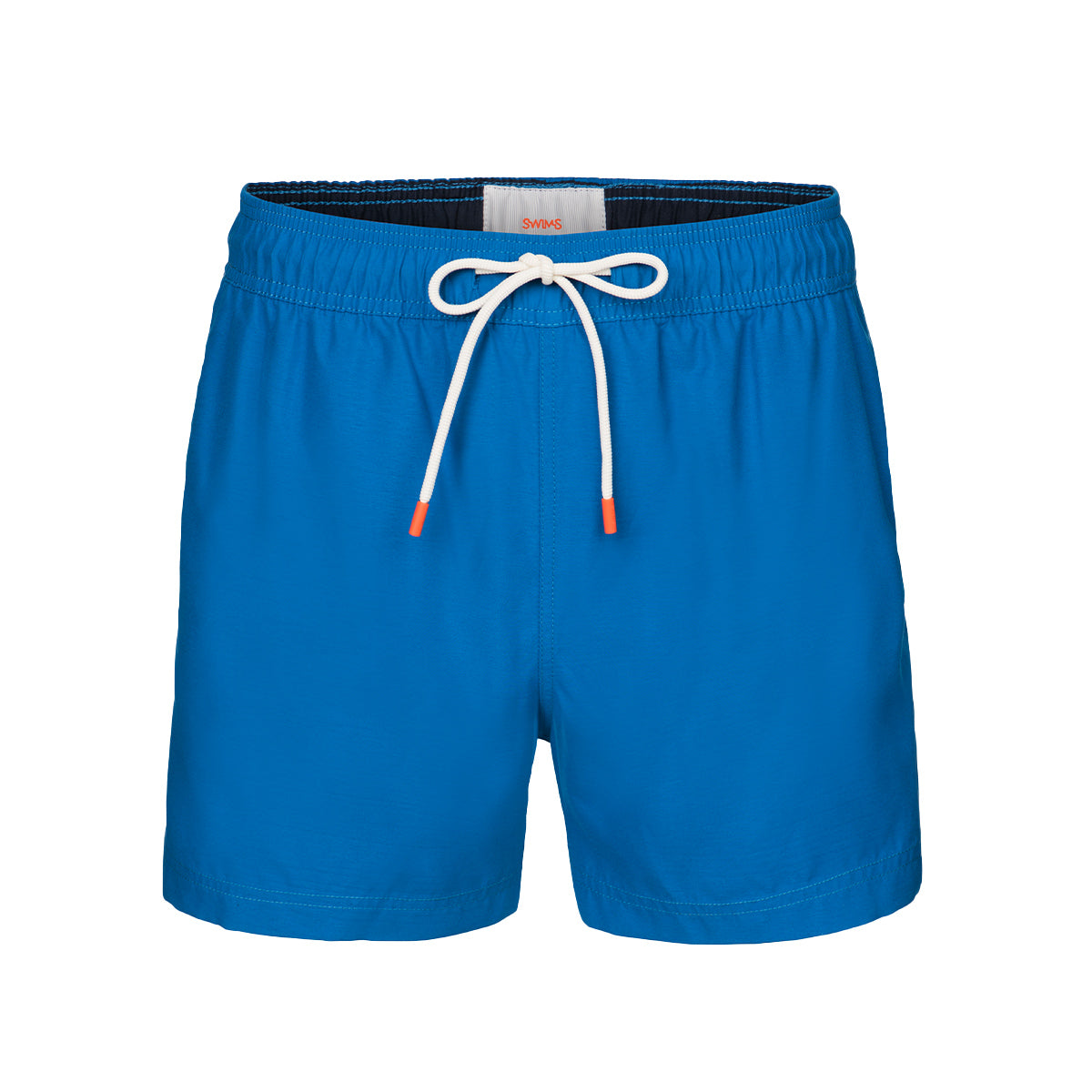 Gavitella Solid Bathing Shorts - background::white,variant::blue