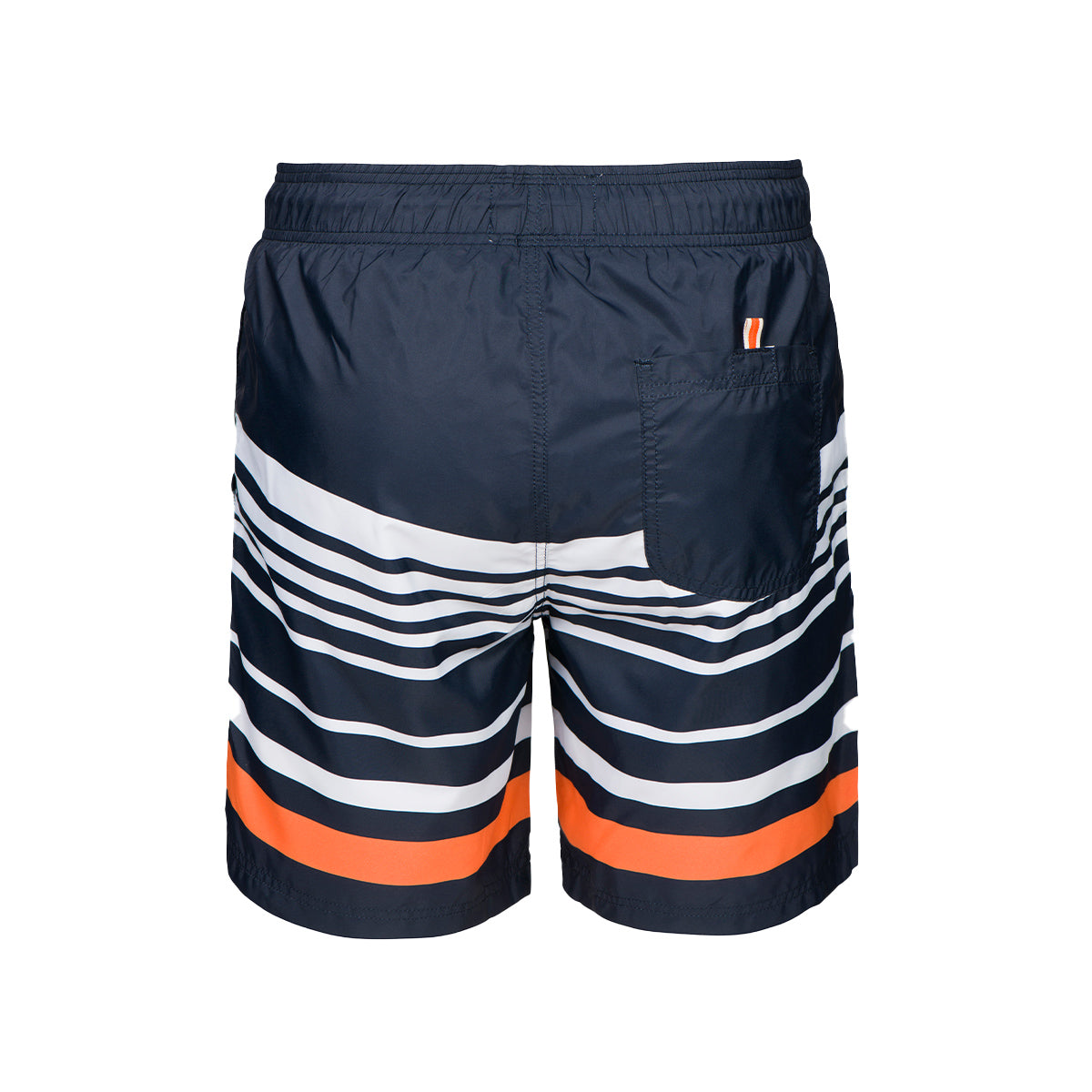 Lucea Logo Bathing Shorts - background::white,variant::blue