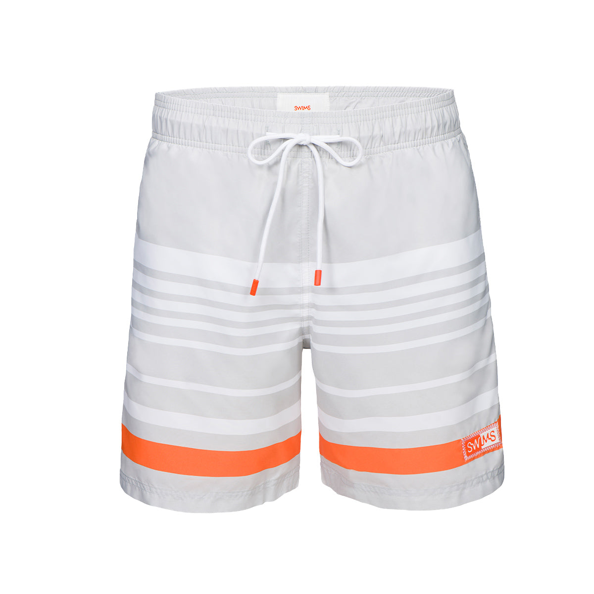 Lucea Logo Bathing Shorts - background::white,variant::grey
