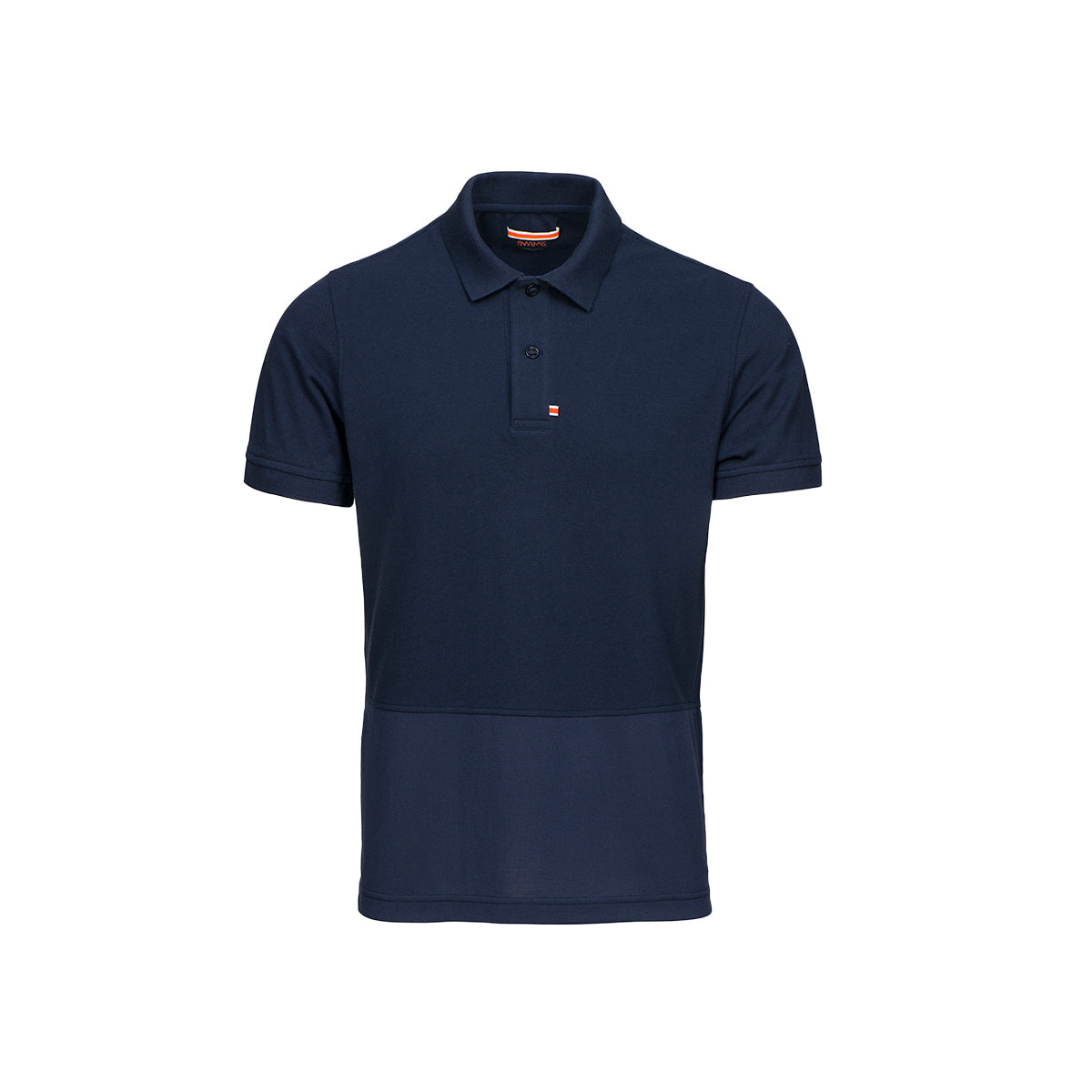 Forno Pique Polo - background::white,variant::navy
