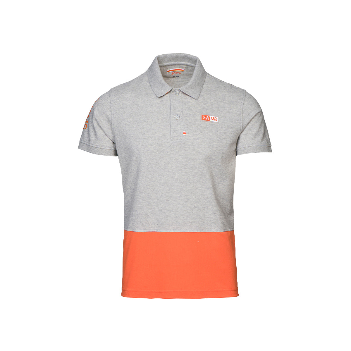 Forno Logo Hybrid Hydrophobic Pique Polo - background::white,variant::light grey