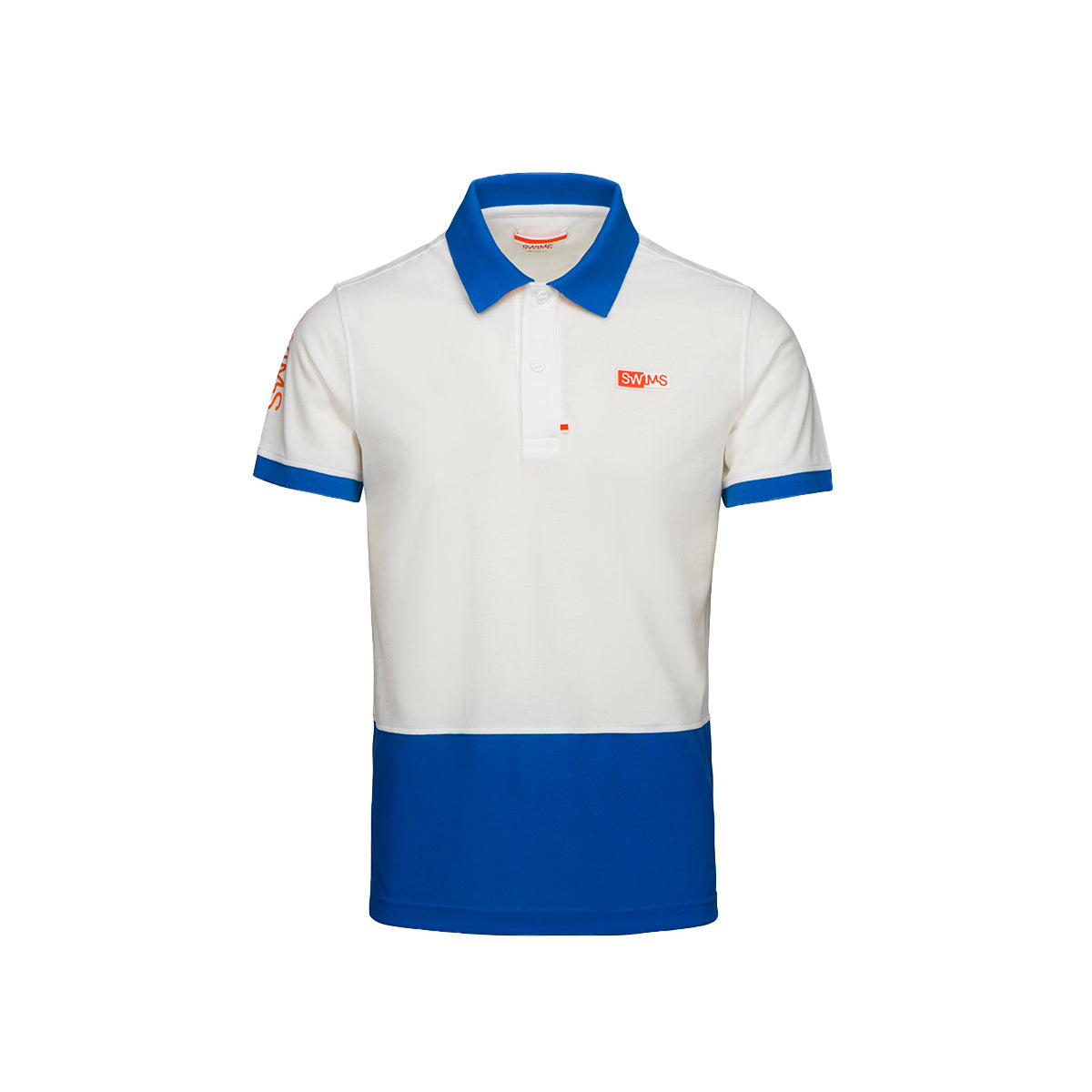 Forno Logo Hybrid Hydrophobic Pique Polo - background::white,variant::blue
