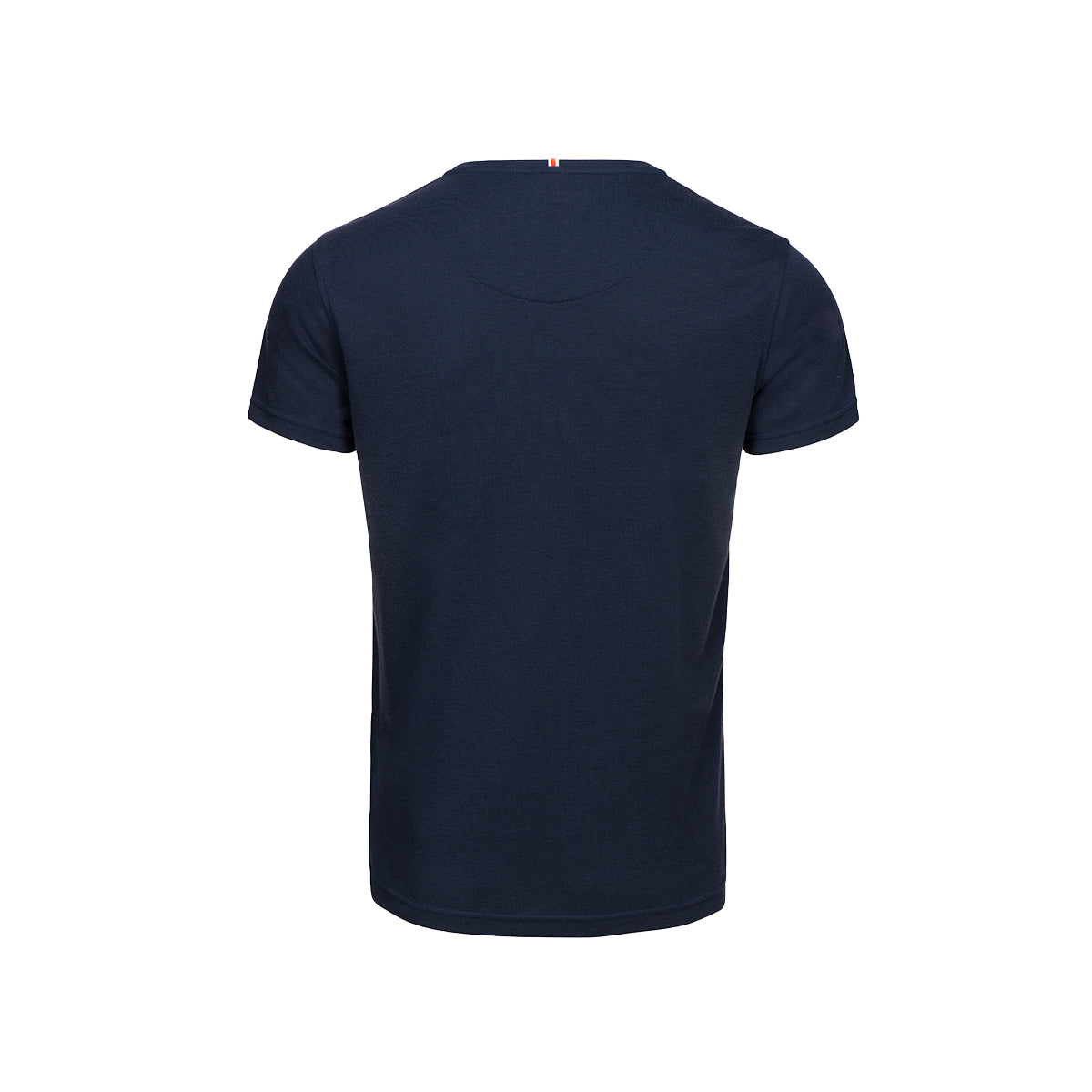 Citara O Neck T-Shirt - background::white,variant::navy