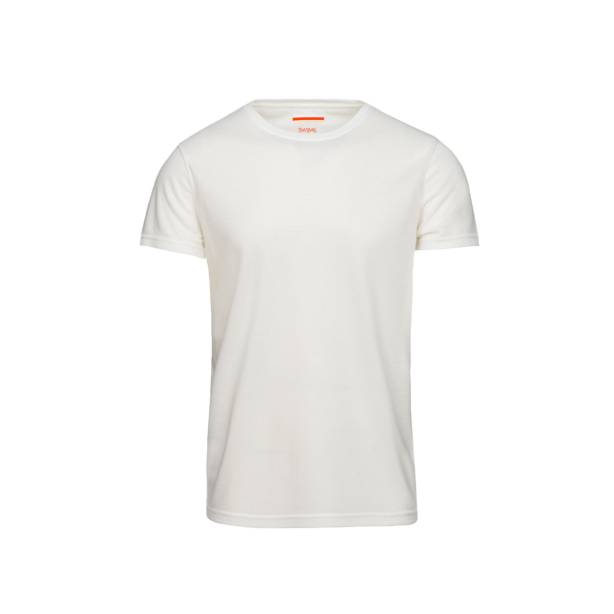 Citara O Neck T-Shirt - background::white,variant::white