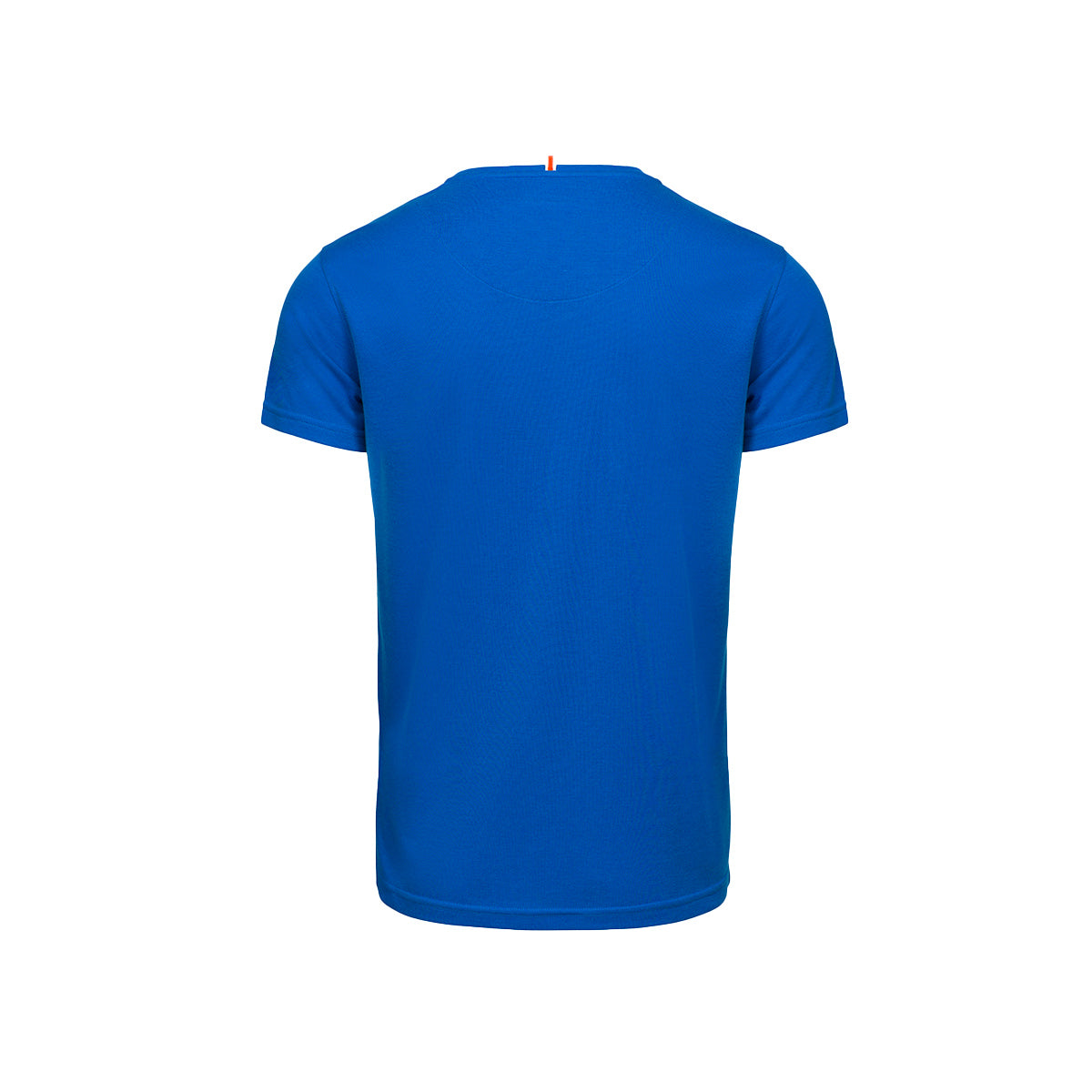Citara O Neck T-Shirt - background::white,variant::blue