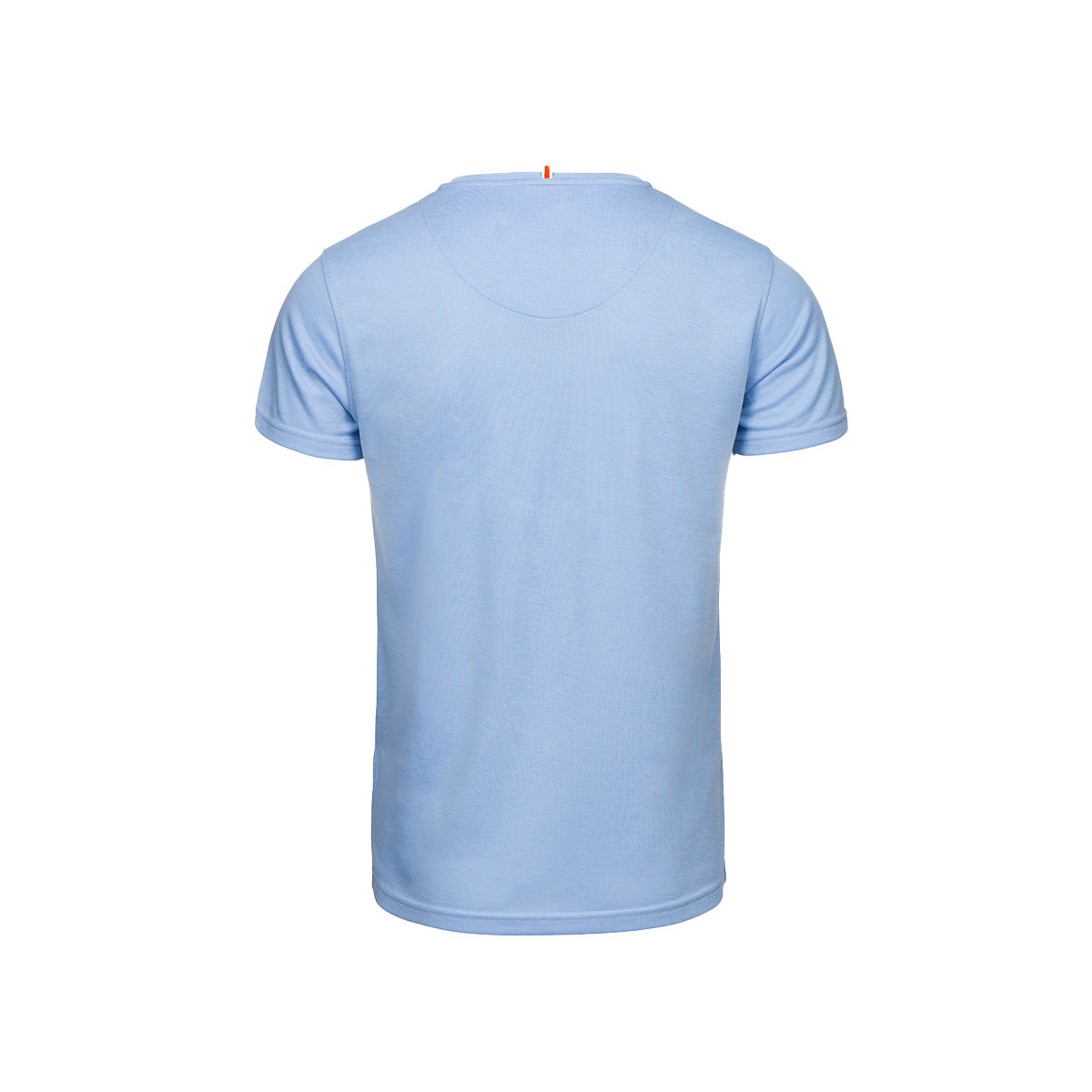 Citara O Neck T-Shirt - background::white,variant::sky