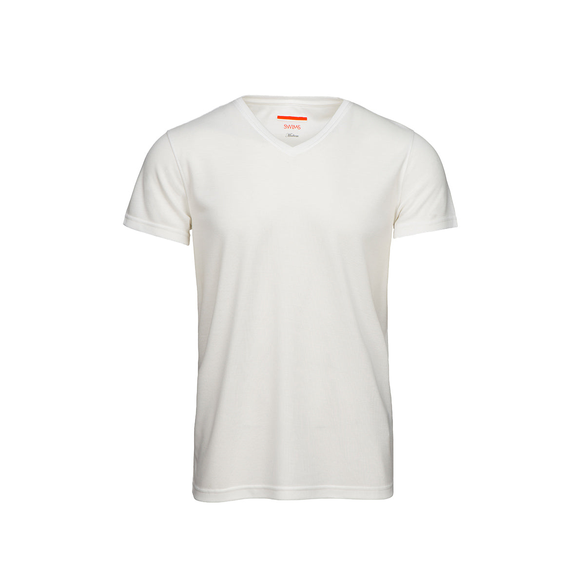 Citara V Neck T-Shirt - background::white,variant::white