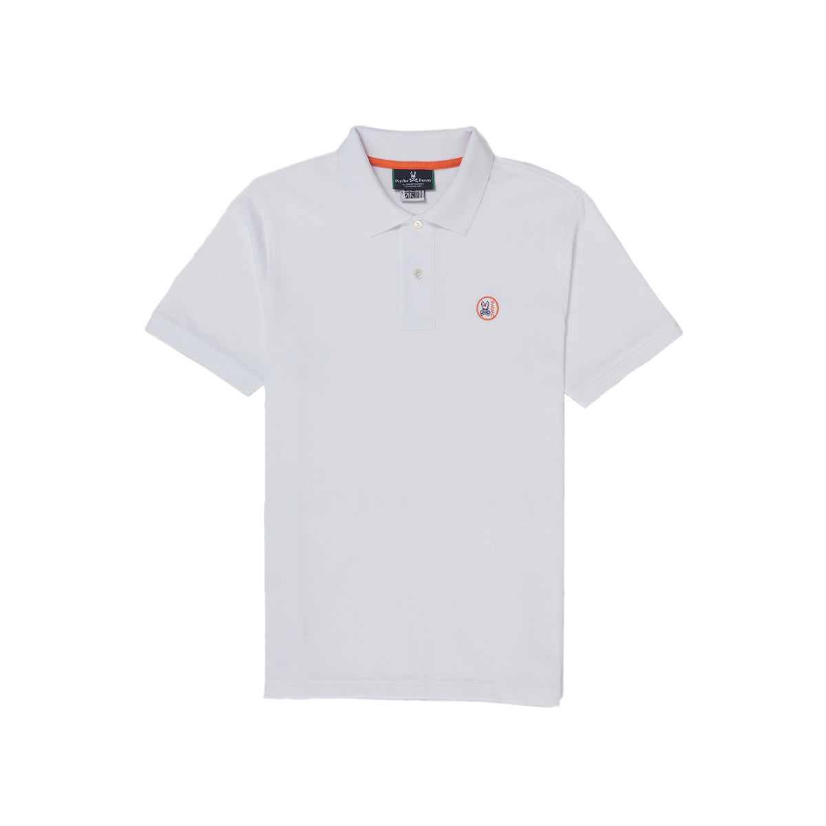 Psycho Bunny x SWIMS Arendale Polo - background::white,variant::white