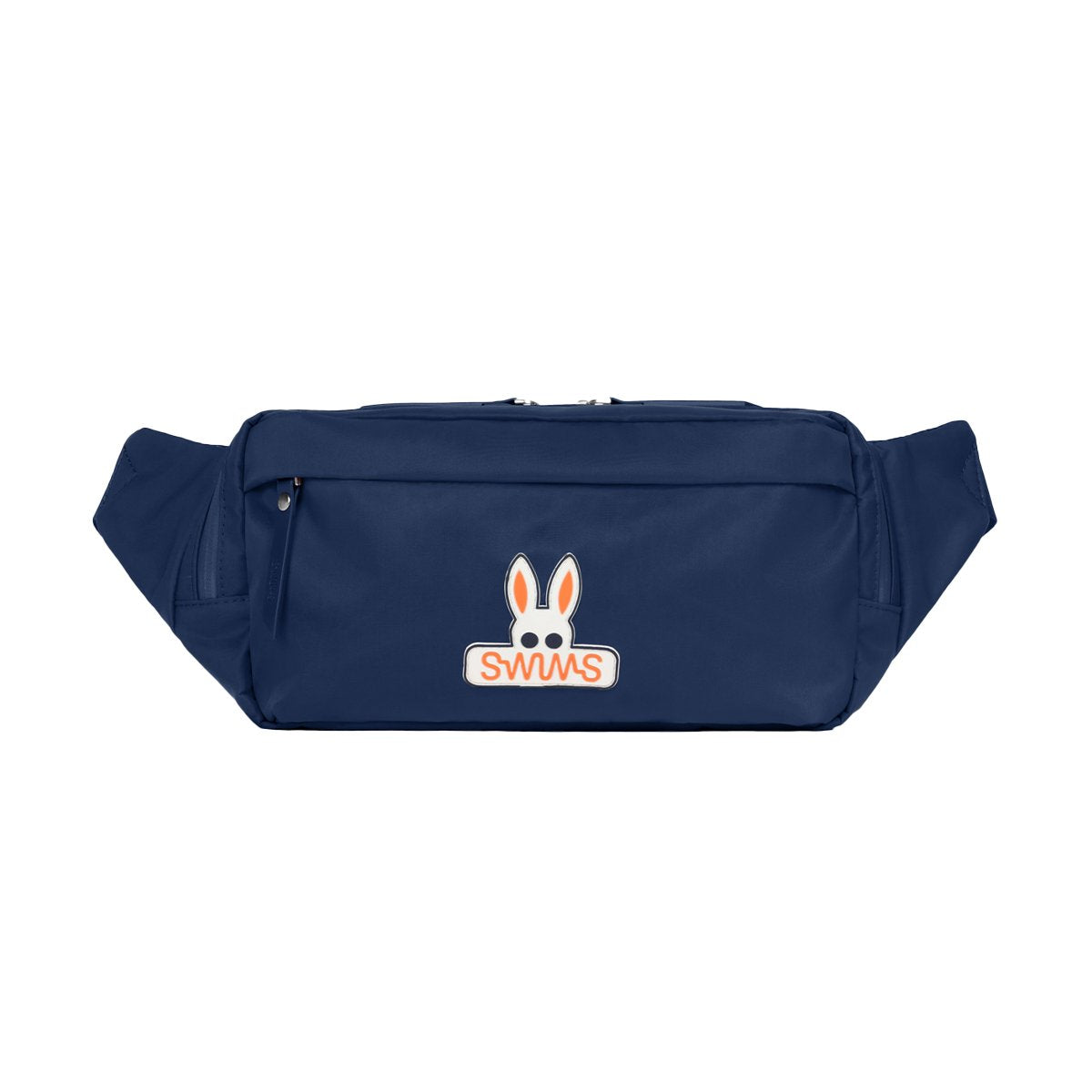 Psycho Bunny x SWIMS Belt Bag - background::white,variant::navy