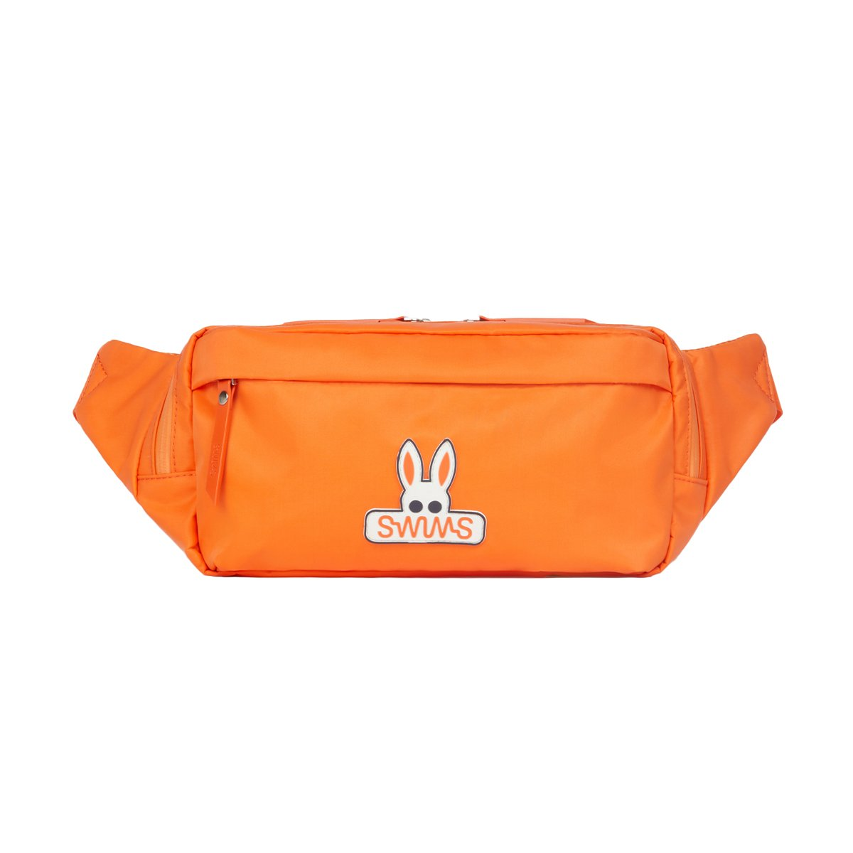 Psycho Bunny x SWIMS Belt Bag - background::white,variant::orange