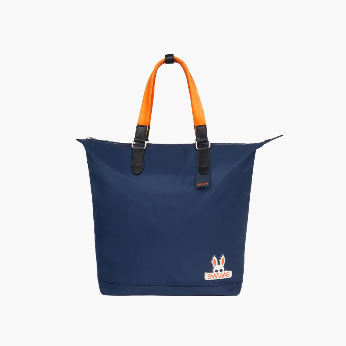 Psycho Bunny x SWIMS Tote - background::white,variant::navy