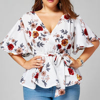 """So Floral"" Top INT"