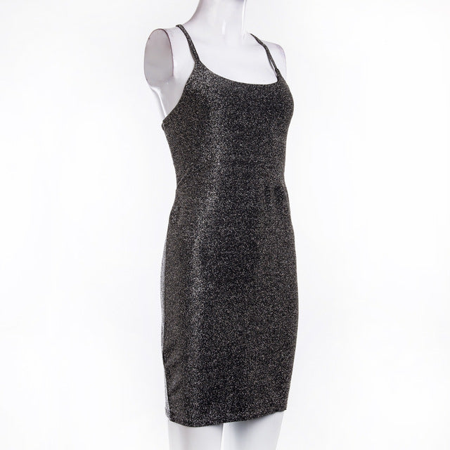 """Light It Up"" Bodycon Dress INT"