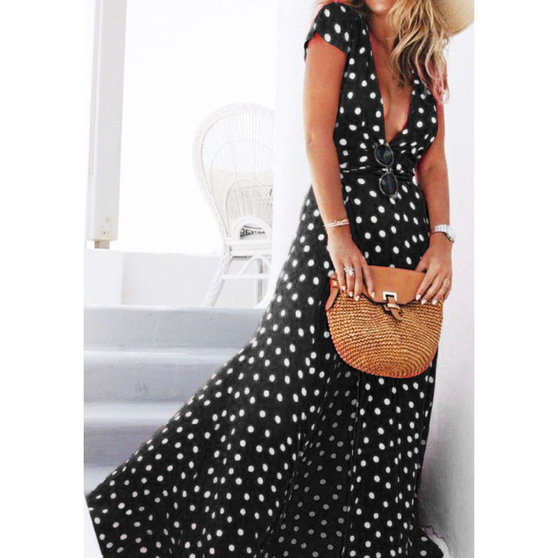 """Teach me how to Polka"" Maxi Dress (3 colors)"
