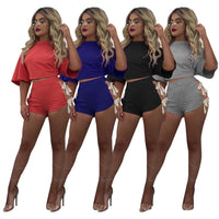 """Bow Down"" Two Piece Set (4 colors)"