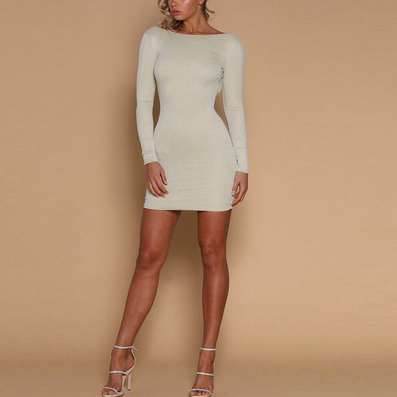 """Crossed Off"" Bodycon Dress"