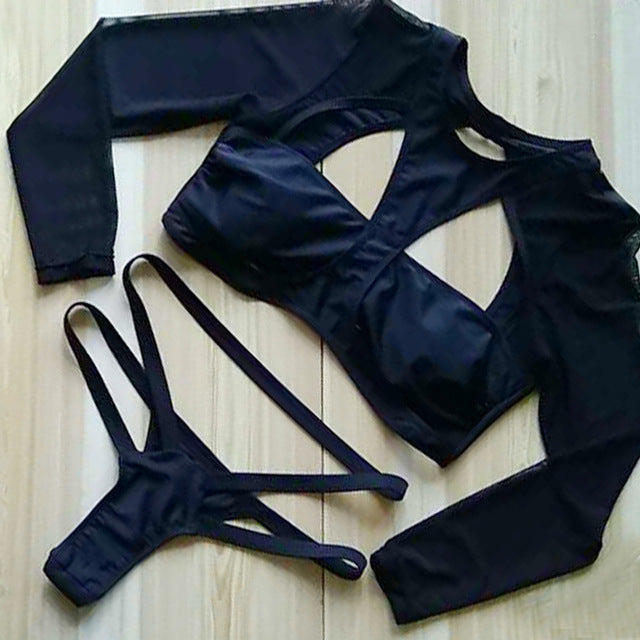 """Little Black Suit"" Bikini"