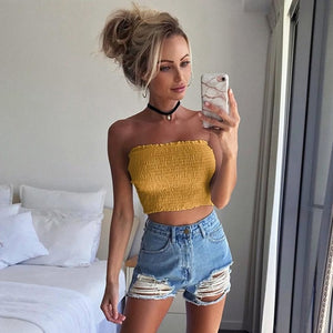 """Haut Girly"" crop Top"