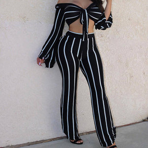 """Body Party"" Two-Piece Jumpsuit (2 colors)"