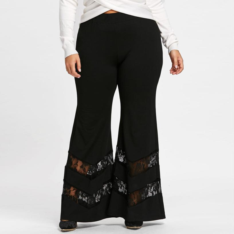 """Figure Eight"" Bell Bottom Pants"