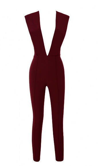 """Business in the Front"" Jumpsuit (10 colors)"