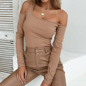 """Cold Shoulder"" Top"
