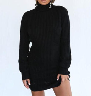 """Comfy Cozy"" Sweater Dress"