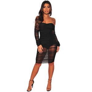 """Come Sheer"" Dress"