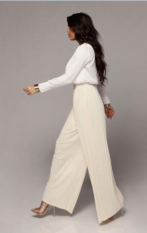 """Autumn Pleated"" Pants"