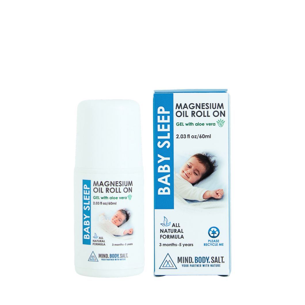 Baby Magnesium Roll-On Gel with Aloe Vera | 60ml