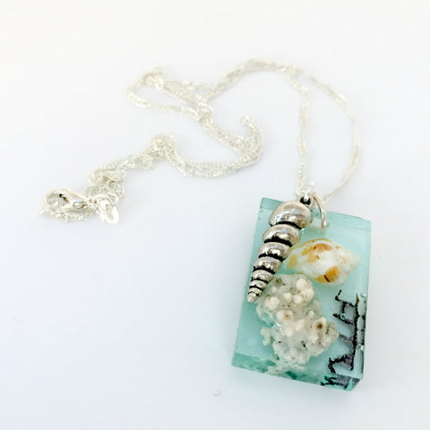 Seascape One-Of-A-Kind Necklace