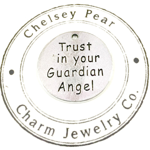 trust in your guardian angel charm