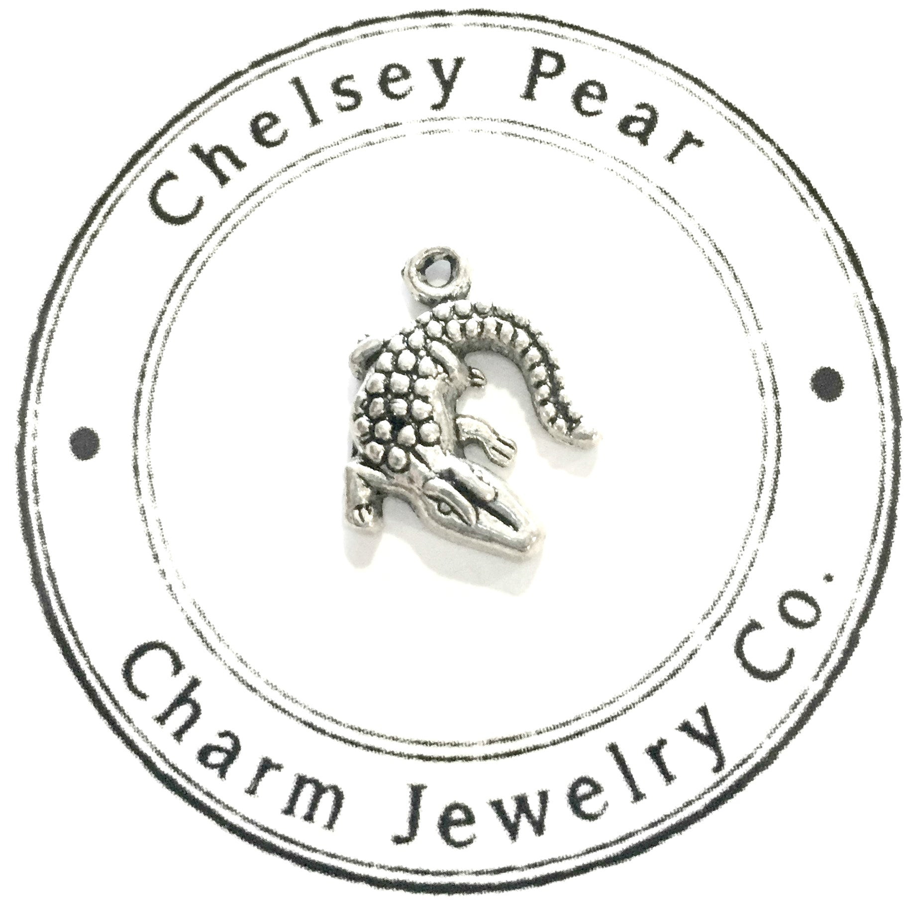 Alligator Charm by Chelsey Pear