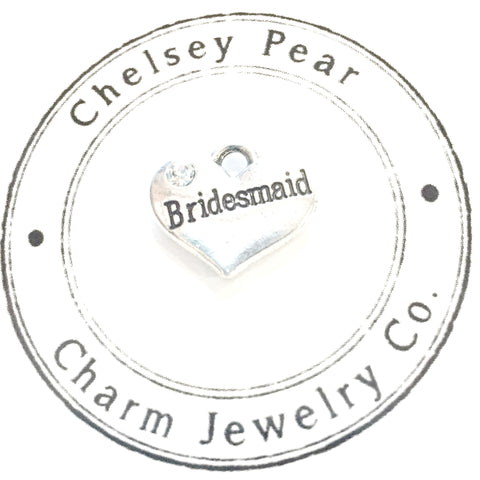 bridesmaid charm