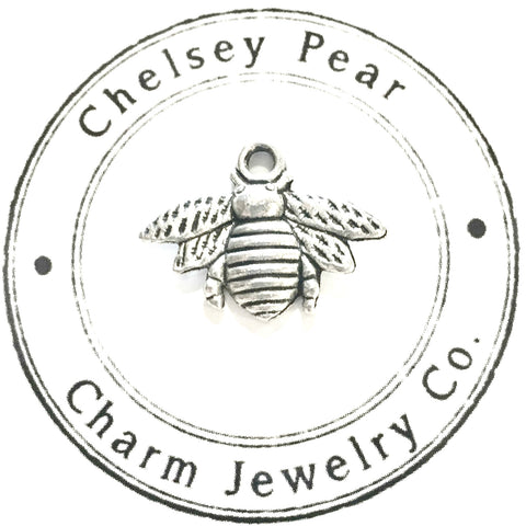 Bumble Bee Charm by Chelsey Pear