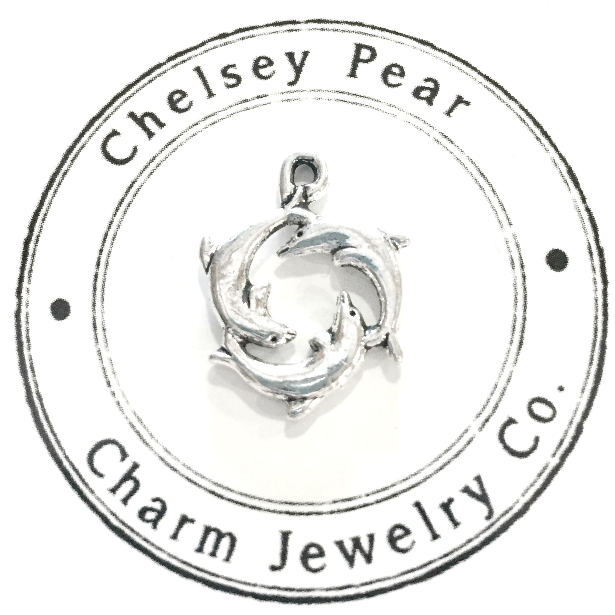 Dolphins Charm by Chelsey Pear