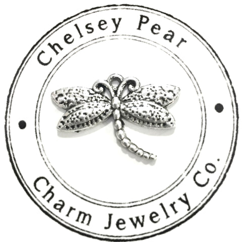 Dragonfly Charm by Chelsey Pear