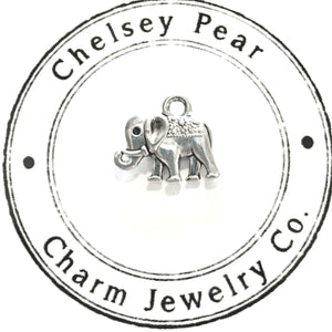 Elephant Charm by Chelsey Pear