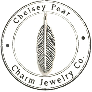 Feather Charm by Chelsey Pear