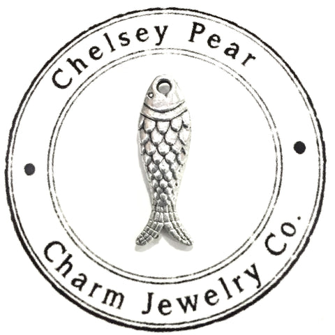 Fish Charm by Chelsey Pear