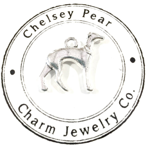 Greyhound Charm by Chelsey Pear