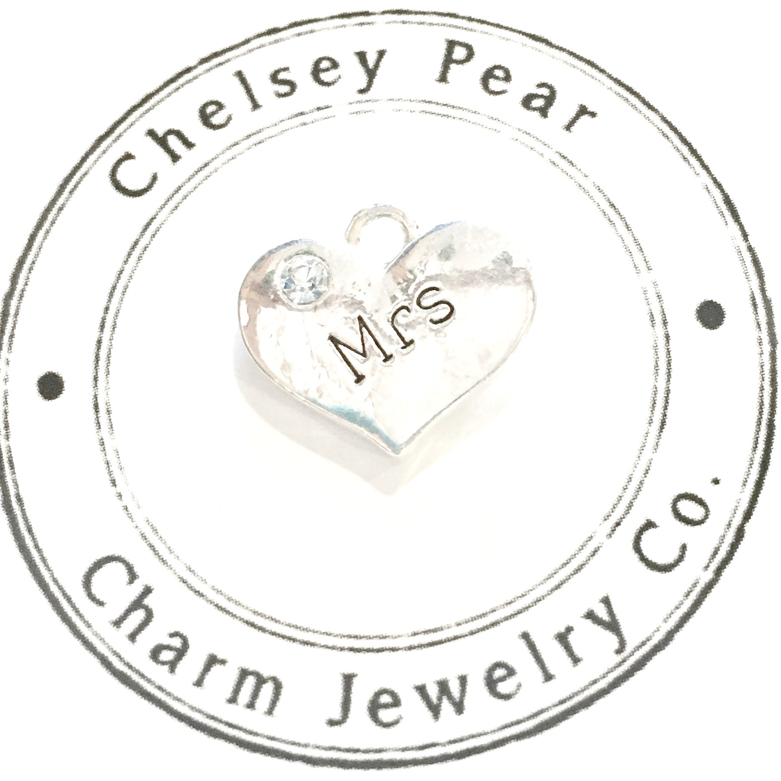 Mrs Charm with Swarovski Crystal