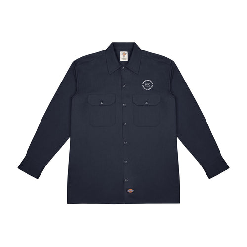 L/S WORK SHIRT—DARK NAVY