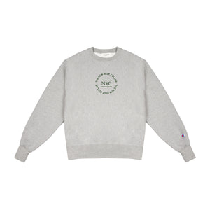 SWEATSHIRT—HEATHER GREY