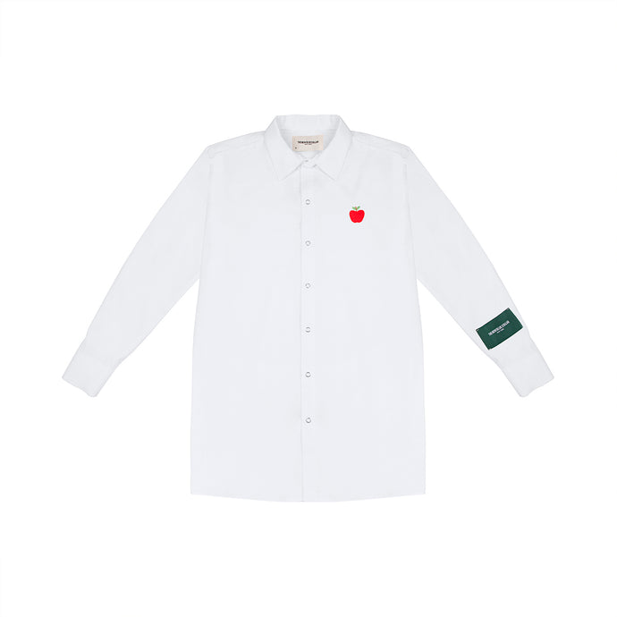 BUTTON UP—WHITE