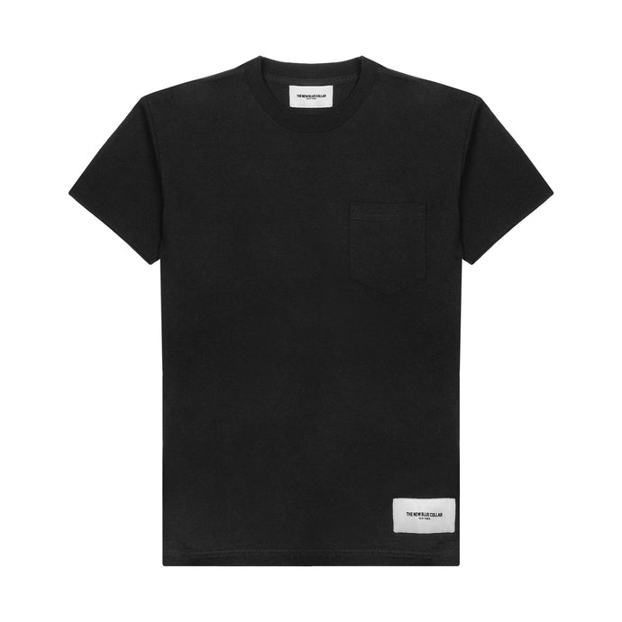S/S POCKET T-SHIRT—BLACK