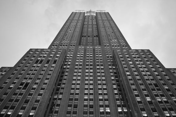 Empire State Building B&W