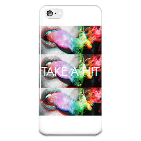 Take A Hit iPhone 5-5s Plastic Case - HypePercents